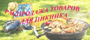 распродажа товаров для пикника Абакан Красноярск