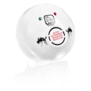 Отпугиватель комаров и слепней ультразвуковой, 220 В, 10х10х4,5 см