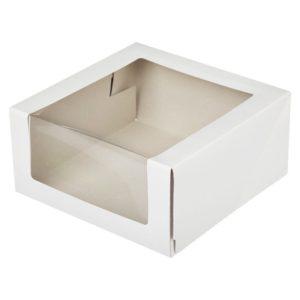 Короб для тортов 180*180*100 Pasticciere с окном 1/120, шт