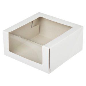 Короб для тортов 225*225*90 Pasticciere 1/80 бел кт-90, шт
