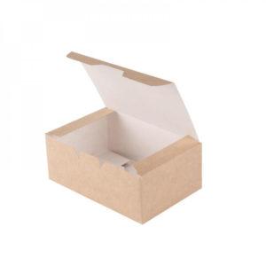 Упаковка ЕСО Fast Food Box S 25/400/600 для нагетсов, шт