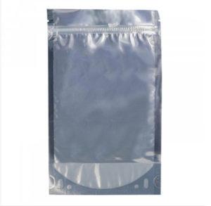 Пакет дой-пак 105*150+(30+30) прозр+метал. с замком зип-лок 108 мкм 50/700 aviora, шт