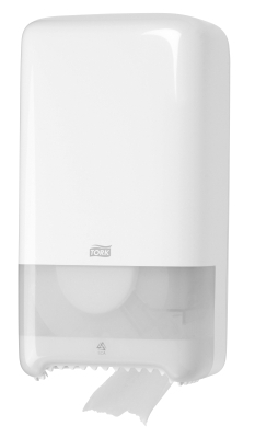 Диспенсер д/туалетной бумаги в миди Tork белый Т6