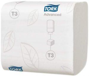 Туалетная бумага TORK лист 242л, 2сл, белая Т3 1/36